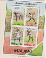 Malawi 1988 Seoul Olympic Games Souvenir Sheet MNH/** (H55) - Sommer 1988: Seoul