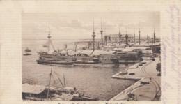 Pola-Porto Die Guerra - Kriegshafen. Marinefeldpost K.u.k.Kriegsmarine HABSBURG, 1917 - Weltkrieg 1914-18