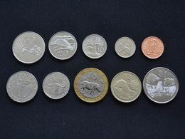 Zimbabwe Coins Set. 1 Set Of 10 Coins. - Zimbabwe