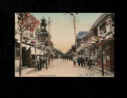 Cartolina Giappone Yokohama Benten-dori - Yokohama