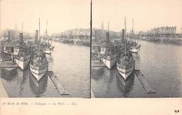 ¤¤  -  ALLEMAGNE   -  Carte-Stéréo   -   COLOGNE   -  Le Port   -  Bateaux         -  ¤¤ - Koeln