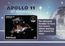 Tuvalu 2019  APOLLO 11 , Space   I201901 - Tuvalu