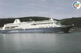 Cartolina  - Postcard /  Viaggiata -  Sent - M/S Prinsesse Ragnhild - Color Line. - Steamers