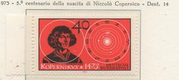 PIA - GERMANIA - 1973 : 5° Centenario Della Nascita Di Niccolò Copernico  -   (Yv 608) - Astronomia