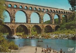 Le Pont Du Gard (Gard) Aqueduc Romain Commence Vers L'an 19 Avant J.-C. France - Sonstige Gemeinden