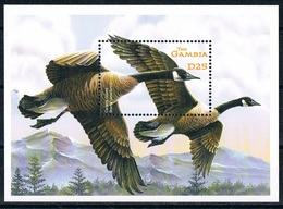 Bloc Sheet Oiseaux Canards Oies Birds Ducks Geese Neuf  MNH ** Gambia Gambie - Oies
