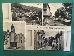 Cartolina Saluti Da S. Bartolomeo Pesio - Valle Pesio M.770 - 1953 - Cuneo