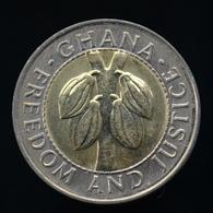 Ghana 100 Cedis 1999. Km32 EF. Africa Bimetallic Coin - Ghana