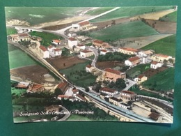 Cartolina Savignano Scalo - Avellino - Panorama - 1974 - Avellino