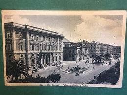 Cartolina Bari Via Cavour - Palazzo Banca D'Italia - 1942 Ca. - Bari
