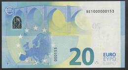 RARE € 20 ITALIA S001 SE1000000153   UNC - EURO