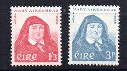 Serie  Nº 138/9  Irlanda - 1949-... República Irlandése