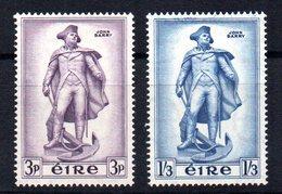 Serie  Nº 126/7  Irlanda - 1949-... República Irlandése