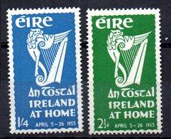 Serie  Nº 118/9  Irlanda - 1949-... República Irlandése
