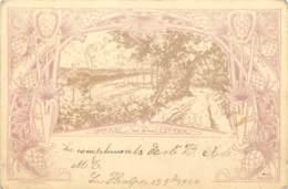 Belgique - Rixensart - Genval - Les Eaux - Litho - Illustrateur P. Gauchie - Rixensart