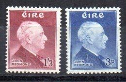 Serie  Nº 128/9  Irlanda - 1949-... República Irlandése
