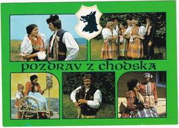 Pozdrav Z Chodska - Rouet / Spinnewiel / Spinning Wheel - Costume National Etc. - (CSSR) - Tsjechië