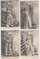 MF101 - Série Complète De 10 Cartes LES ARTS De Bergeret - Bergeret
