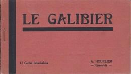 LE GALIBIER 12 Cartes Détachables -A HOURLIER 1014L - Sonstige Gemeinden