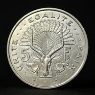 Djibouti 5 Fran 1991. Km22. African Coin. UNC. 31.1mm - Dschibuti