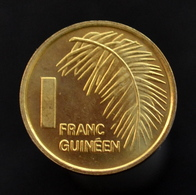 Guinea 1 Franc Coin 1985. Km56. Africa. UNC. Plants (Flora) - Guinea