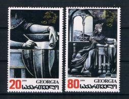 Georgien 1999 UPU Mi.Nr. 316/17 Kpl. Satz ** - Georgien