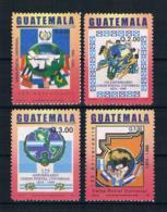 Guatemala 2002 UPU Mi.Nr. 1381/84 Kpl. Satz ** - Guatemala