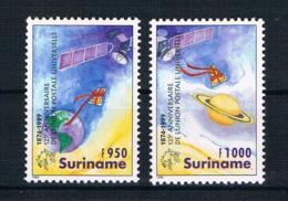 Surinam 1999 UPU Mi.Nr. 1709/10 Kpl. Satz ** - Suriname