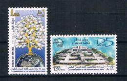 Qatar 1999 UPU Mi.Nr. 1160/61 Kpl. Satz ** - Qatar