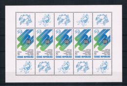 Tschechische Republik 1999 UPU Mi.Nr. 224 Kleinbogen ** - Tschechische Republik