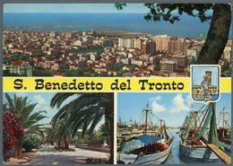 °°° Cartolina N. 85 S. Benedetto Del Tronto Vedutine Viaggiata °°° - Ascoli Piceno