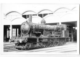 CHALON SUR SAONE (71) Photographie Format Cpa Gare Dépot  Locomotive Superbe Plan - Chalon Sur Saone