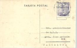 TARJETA POSTAL  COMERCIAL 1944  OVIEDO - 1931-50 Cartas
