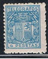 (3E 232) ESPAÑA // YVERT 77 TELEGRAPHE   // EDIFIL 74 // 1932-36   NEUF - Télégraphe