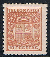(3E 233) ESPAÑA // YVERT 78 TELEGRAPHE   // EDIFIL 75 // 1932-36   NEUF - Telegrafi