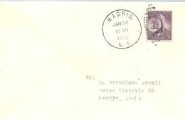 MATASELLOS   USA  CIUDAD MADRID   NEW YORK - 1931-50 Cartas
