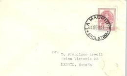 MATASELLOS   LA MADRID  1949  ARGENTINA - 1931-50 Cartas