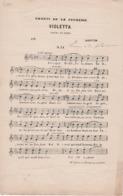 Partitions-VIOLETTA De L'Opéra De Verdi - Scores & Partitions