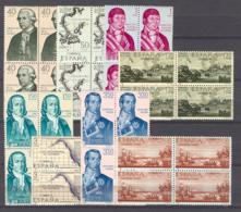 Spain 1967 - Forjadores 1819-26 Bloque (**) - 1961-70 Nuevos & Fijasellos