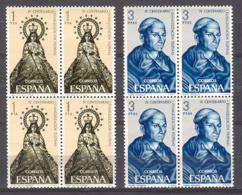 Spain 1965 - Evan. Filipinas Ed 1693-94 Blq (**) - 1961-70 Nuevos & Fijasellos