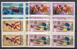 Spain 1976 - JJOO Montreal Ed 2340-43 Bloque (**) - Verano 1976: Montréal