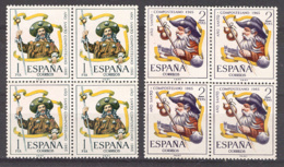 Spain 1965 - A Santo Ed 1672-73 (**) Bloque - 1961-70 Nuevos & Fijasellos