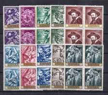 Spain 1966 - Jose M. Sert Ed 1710-19 (**) Bl - 1961-70 Nuevos & Fijasellos