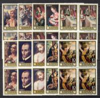 Spain 1970 - Luis De Morales Ed 1963-72 Bloque (**) - 1961-70 Nuevos & Fijasellos