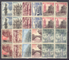 Spain 1965 - Serie Turistica Ed 1643-52 Bloq - 1961-70 Nuevos & Fijasellos