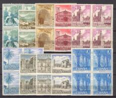 Spain 1966 - Turismo III Ed 1726-35 Bloque (**) - 1961-70 Nuevos & Fijasellos