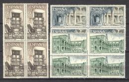 Spain 1965 - Mtrio Yuste Ed 1686-88 Bloque - 1961-70 Nuevos & Fijasellos