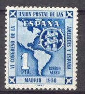 Spain 1951. UPAE. Ed 1091 (**) - 1931-Today: 2nd Rep - ... Juan Carlos I