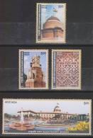 India 2011 Set/4 Stamp  Rashtrpati Bhavan . Mnh - Indien