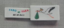 Feve Feves Série Perso A.F.F. Message De Naissance De Fabo Et Faba - Regionen